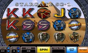 The Stargate SG-1 Video Slot review By Spielo