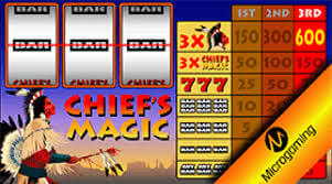Chief's Magic Online Slot Overview