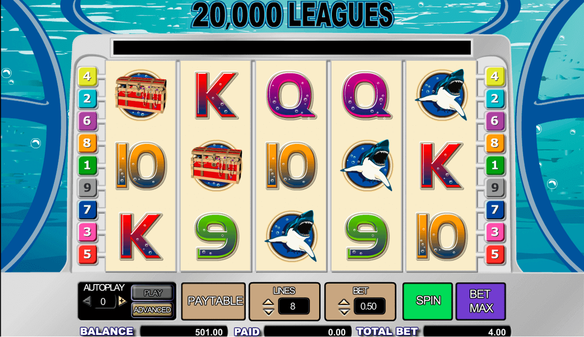 A Guide To The 20000 Leagues Slot Game for New Players