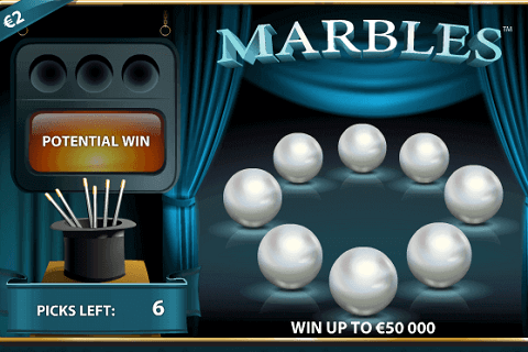 A Look at Marbles Lottery Game by NetEnt