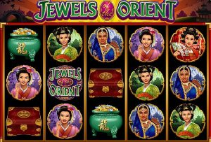 Jewels of the Orient Online Slot Game by Microgaming