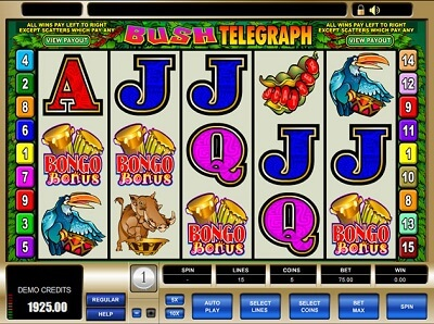 Bush Telegraph Slots Online Review for Players